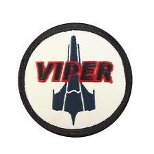 battlestar galactica viper pilot BSG embroidered scifi cosplay hook patch