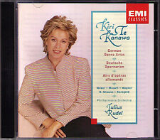 Kiri Te KANAWA Korngold Mozart Strauss Wagner Weber CD Julius Rudel Tannhäuser