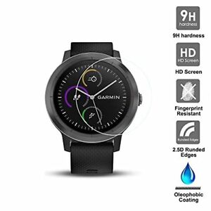 For Garmin Vivoactive 3 Tempered Glass Screen Protector Watch