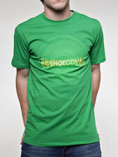 Camiseta DC verde logo disco - L - PVP 32 € - nueva - autentica - T-shirt