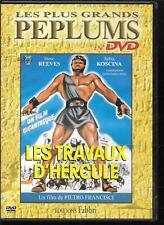 DVD ZONE 2--PEPLUM--LES TRAVAUX D' HERCULE--REEVES/KOSCINA/FRANCISCI