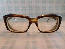 Vintage AO American Optical Square Tortoise Nerd Eyeglasses Sunglasses Frame