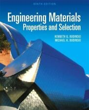 Engineering Materials: Properties and Selection 9th Int'l Edition