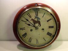 Antique Seth Thomas American Wall Clock, 1896, Mahogony Casing