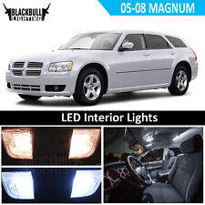 White LED Interior Light Accessories Kit MAP DOME for 2005-2008 Magnum 7 Bulbs