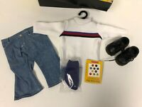 American Girl of Today Jeans Shirts Shoes Blue Jean Basics II 1999 MINT RARE VTG