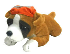 "Harley-Davidson® 14"" Boxer Puppy Dog Plush Soft Animal Brown Black White 9950855"