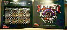 1999 Racing Champions 1:64 NASCAR 50th Anniversary Chase Car set 1/3000 Limited