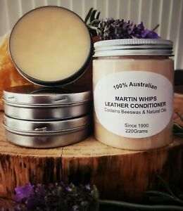 Leather Beeswax Conditioner 220grams