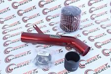 AEM 99-00 Honda Civic Si Red Short Ram Intake 22-417R