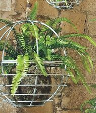 """Wire Hanging Orb 12"""" Planter French Country Rustic Paris Market Industrial SG"""