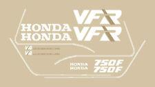 Adesivi replica Honda VFR 750 RC24 '88 '89 moto rossa stickers