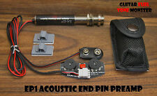TONE MONSTER EP1 Acoustic Guitar Bass Ukulele End Pin Preamp Volume Tone