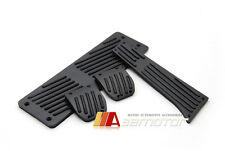 Matte Black Manual MT Pedal Set + Footrest for BMW E30 E34 E36 E38 E65 X3 X5 Z3