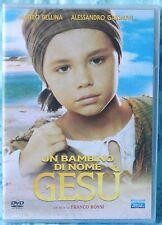 UN BAMBINO DI NOME GESU' - FRANCO ROSSI - DVD SIGILLATO FUORI CATALOGO N.01364