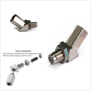 Car Check Engine Light Fix Catalytic Oxygen O2 Sensor Spacer Adapter Bung Metal