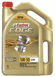 Castrol EDGE 5W-30 A3 B4 Engine Oil 5L 3421196