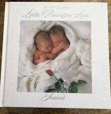 New Anne Geddes Twins Wrapped in Blanket Little Thoughts of Love Journal