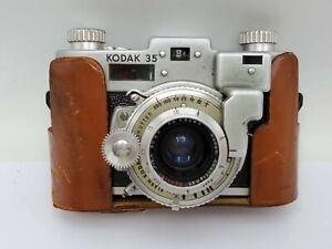 Vintage Kodak 35 Rangefinder 35mm Film Camera Anastigmat Special 50mm F3.5 Lens