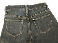 Gap Women's Stretch Low Rise Boot Cut Dark Wash Jean's Size 1 r