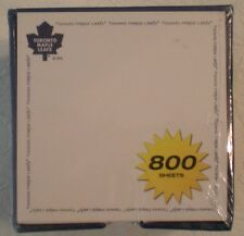 TORONTO MAPLE LEAFS 800 SHEET NOTE CUBE