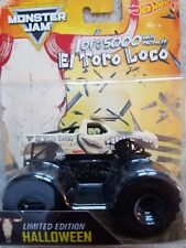 Monster Jam Hot Wheels El Toro Loco Halloween truck 1 of 5000