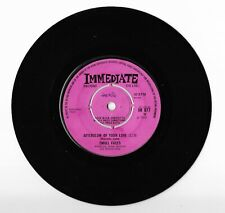 """SMALL FACES - Afterglow of Love/Wham Bam, Thank You Man - 7"""" Vinyl 1969 IM 077"""