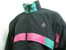 Vintage Retro 90' Ancienne VESTE LE COQ SPORTIF SURVÊTEMENT Jogging Jacket S162