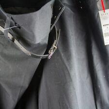 NEW NWOT Kohl's Elle Indigo Blooms Size 16 Black Welk