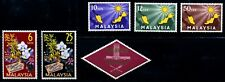 Malaysia. 1963. First Issue. 10s~20s. SC# 1~6. MNH~MH
