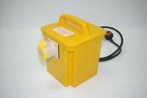 Single Socket 1.5kVA 110V Power Tool Transformer - 1x16A Socket, Input 230v/50Hz