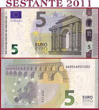 "(com) EUROPEAN UNION - ITALY 5 EURO 2013 Sign DRAGHI  ""SD""  S002J3 - P 20s - UNC"