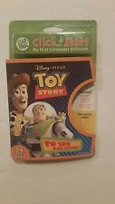 LeapFrog ClickStart My First Computer Disney Pixar Toy Story To 100 & Beyond NEW