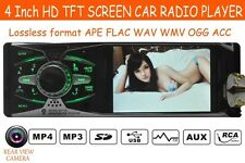 In-Dash Car Stereo mp3 Radio FM/USB/Aux 4'' HD 1080P Head Unit 12V iPhone iPod