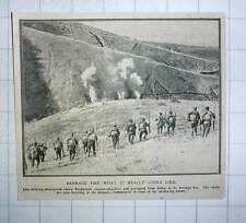 1917 Bulgarian Soldiers Counter-attacking And Prevented By Barrage Fire