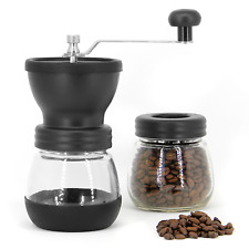 Manual Coffee Bean Grinder | Adjustable Coarseness Ceramic Hand Held Mill | M&W