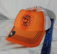 New Adult Snuffy Orange Baseball Cap Sesame Street Snuffleupagus Up to Snuff Hat