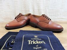 Trickers Tan Country Storm Welt & Bellow Tounge Shoes UK 6 US 7 EU 40 Reg width