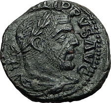 PHILIP I the ARAB 246AD Viminacium BULL LION Legion Sestertius Roman Coin i58386