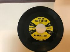 ROCKABILLY 45 RPM RECORD - RONNIE SELF - COLUMBIA 4-40989