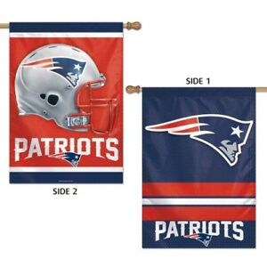 New England Patriots Banner Flag 28 x 40 2 Sided