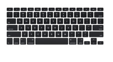 "✅Apple MacBook Pro 13 15"" 2012-2015 Kit Keycap Black Backlit British 923-0130 ✅"