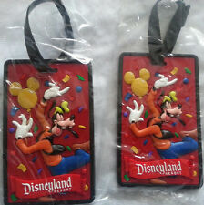 Luggage Tags, Set of 2 new Disneyland Resort  - Brand new in plastic Collectible