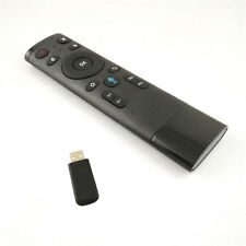 2.4G Inteligent USB Air Mouse Voice Remote Control Gaming Keyboard Wire Drawing