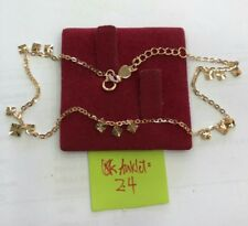 Gold Authentic 18k gold anklet