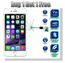 Pack of 4 Genuine Tempered Glass Film Screen Protector for Apple iPhone 6 6S