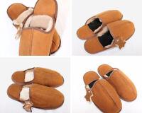 Men's Genuine Sheepskin Slippers/Mules