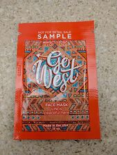 20 Perfectly Posh Go West Face Mask Portal Samples Lot .15 oz. Each  3 oz Total