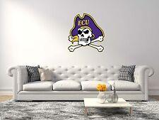 East Carolina Pirates NCAA Football Sport Wall Decal Vinyl Sticker For Room Home
