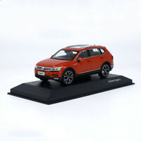 1/43 Volkswagen Tiguan L 2017 Red Diecast Car model Collection Toy